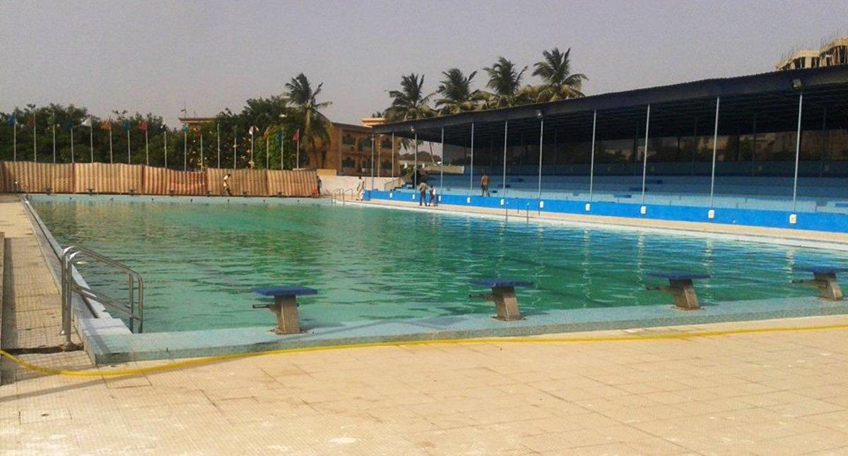 KMC sports complex swimming pool.