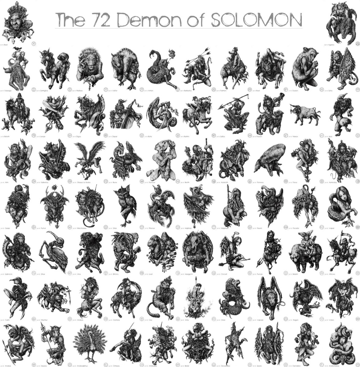 the demons of solomon