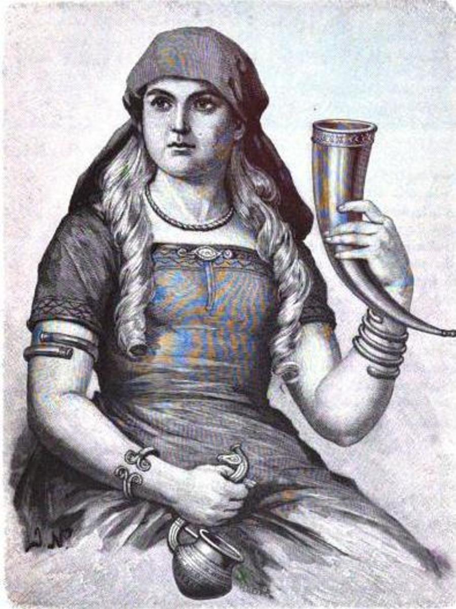 Sif by Jenny Nyström (1854-1946)
