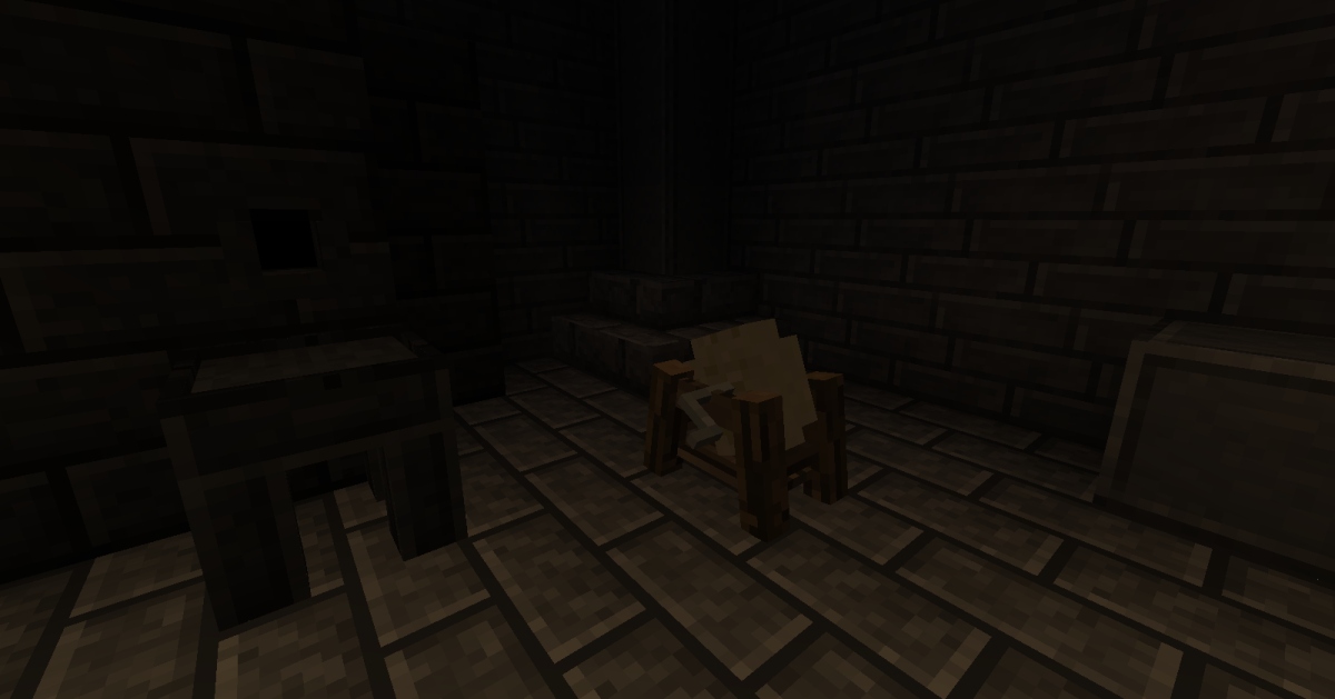 The grindstone looks great and is quite useful, making it a great addition to any smithy.