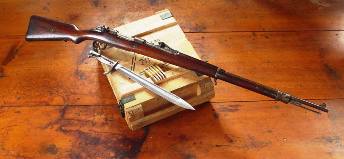 Many people consider the Mauser 98 the best rifle ever made.