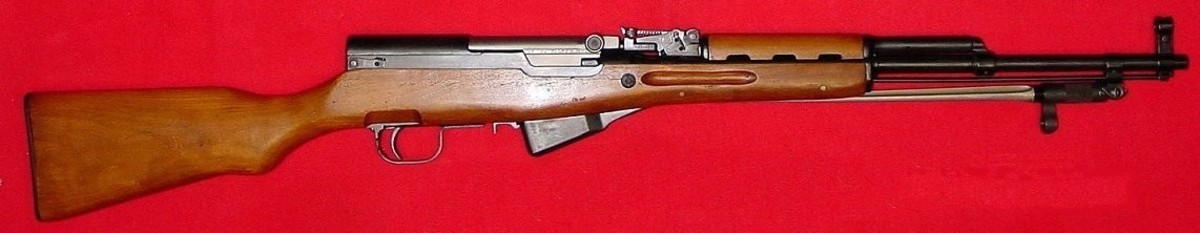The Chinese Type 56 SKS is the best semi-automatic battle rifle option for the budget collector.