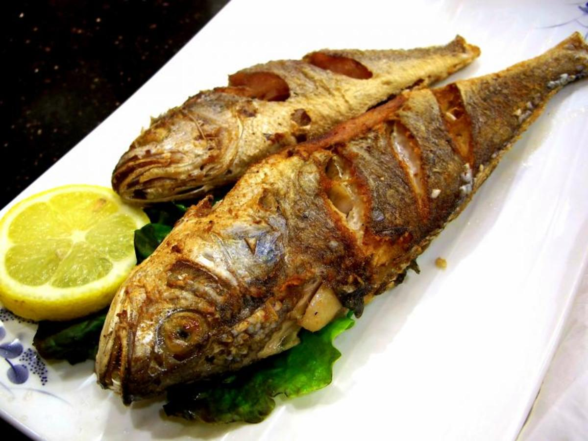 Grilled fish is a nice addition to the menu
