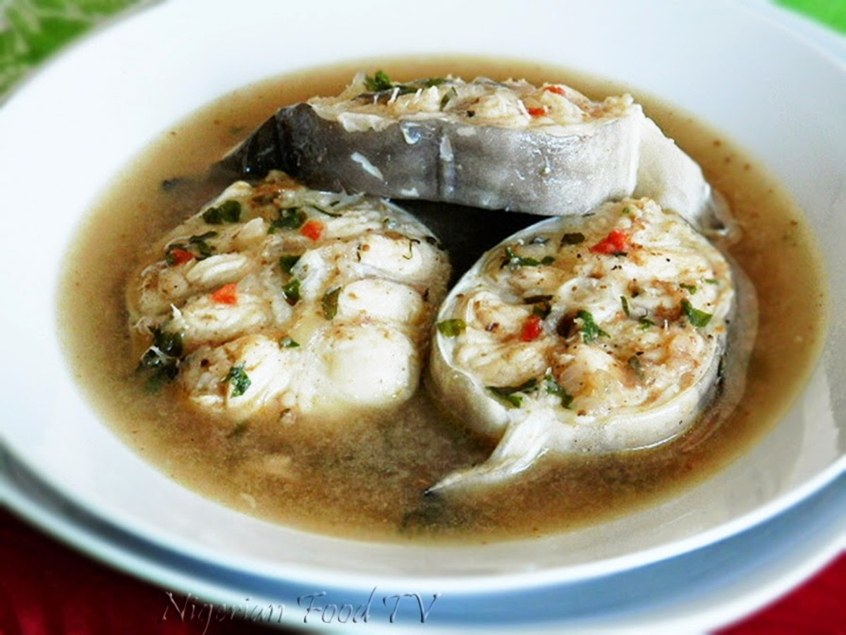 Fish pepper soup
