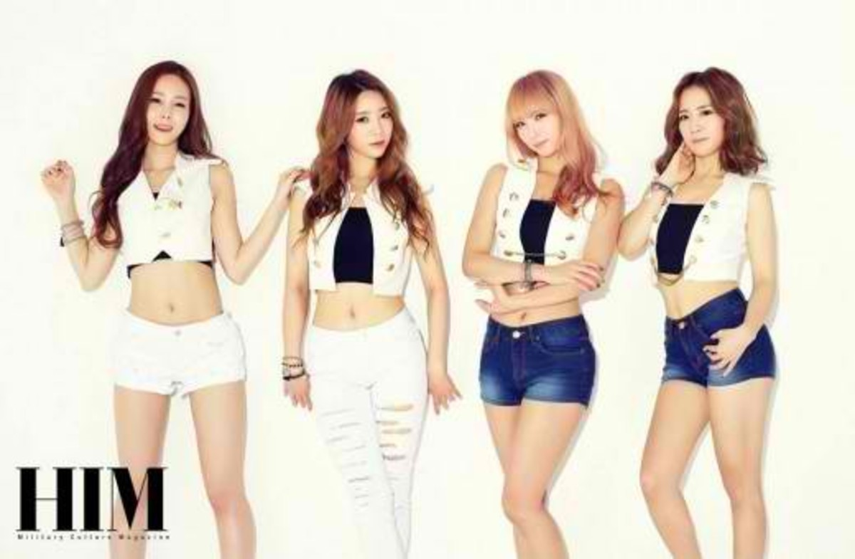 The Most Popular Korean Girl Groups