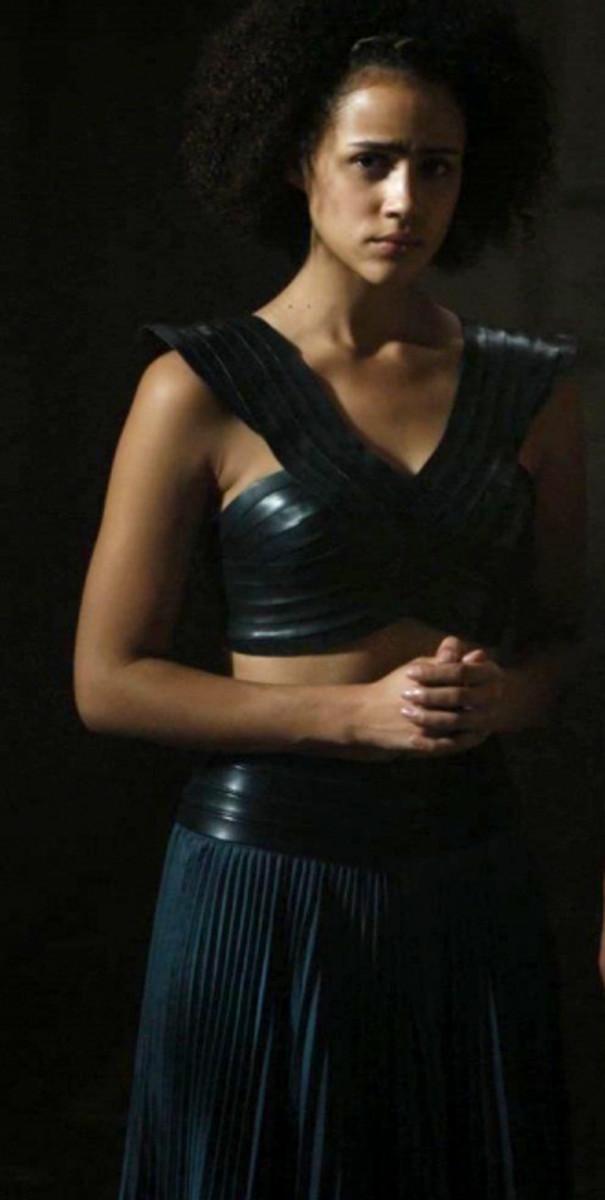 Nathalie Emmanuel as Missandei