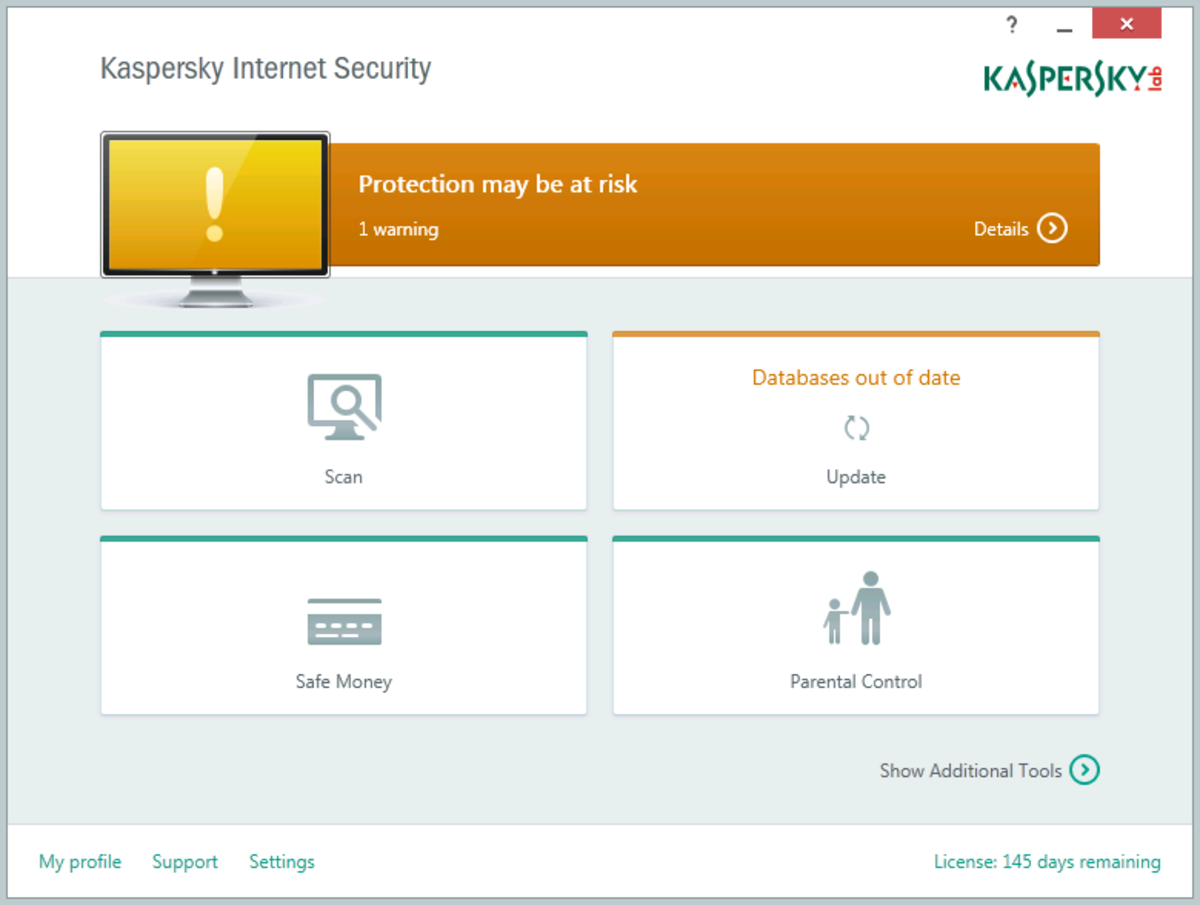 How to Fix Kaspersky Error Updating Component Klava?