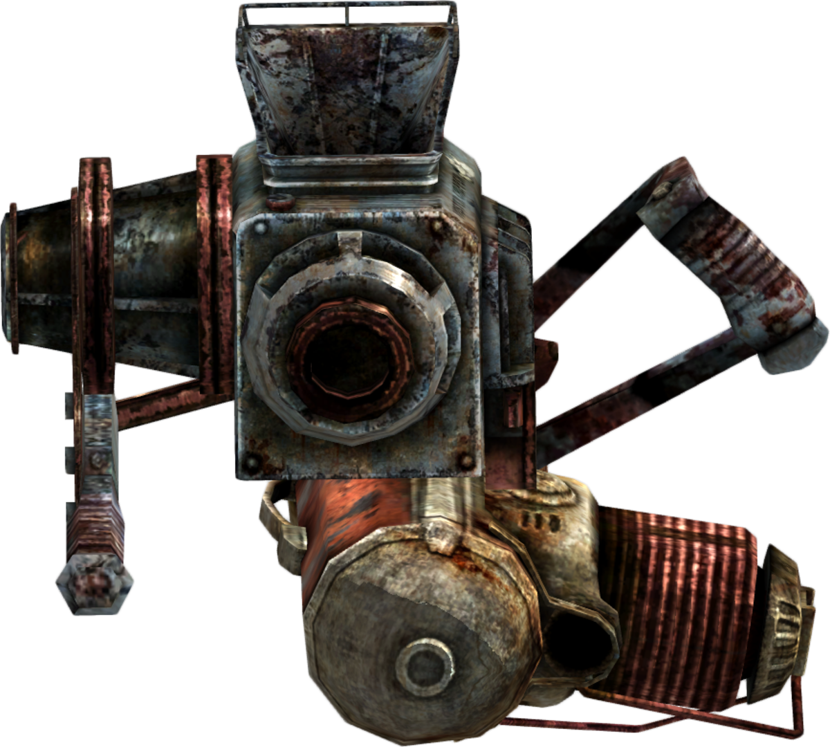 Rock-it launcher from Fallout
