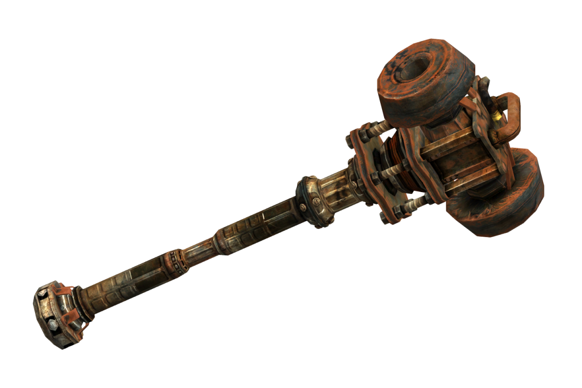 Super sledge from Fallout