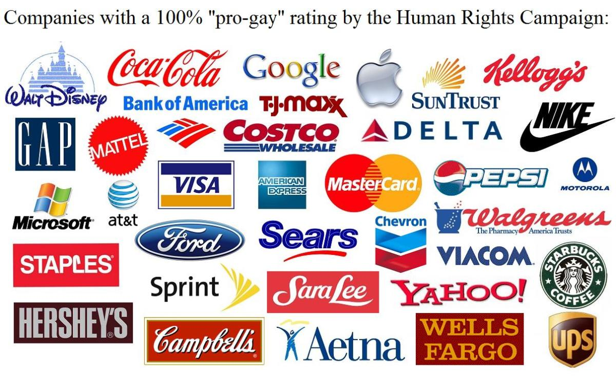 30 Companies That Support Gay Marriage and Equal Rights For The LGBTQ Community