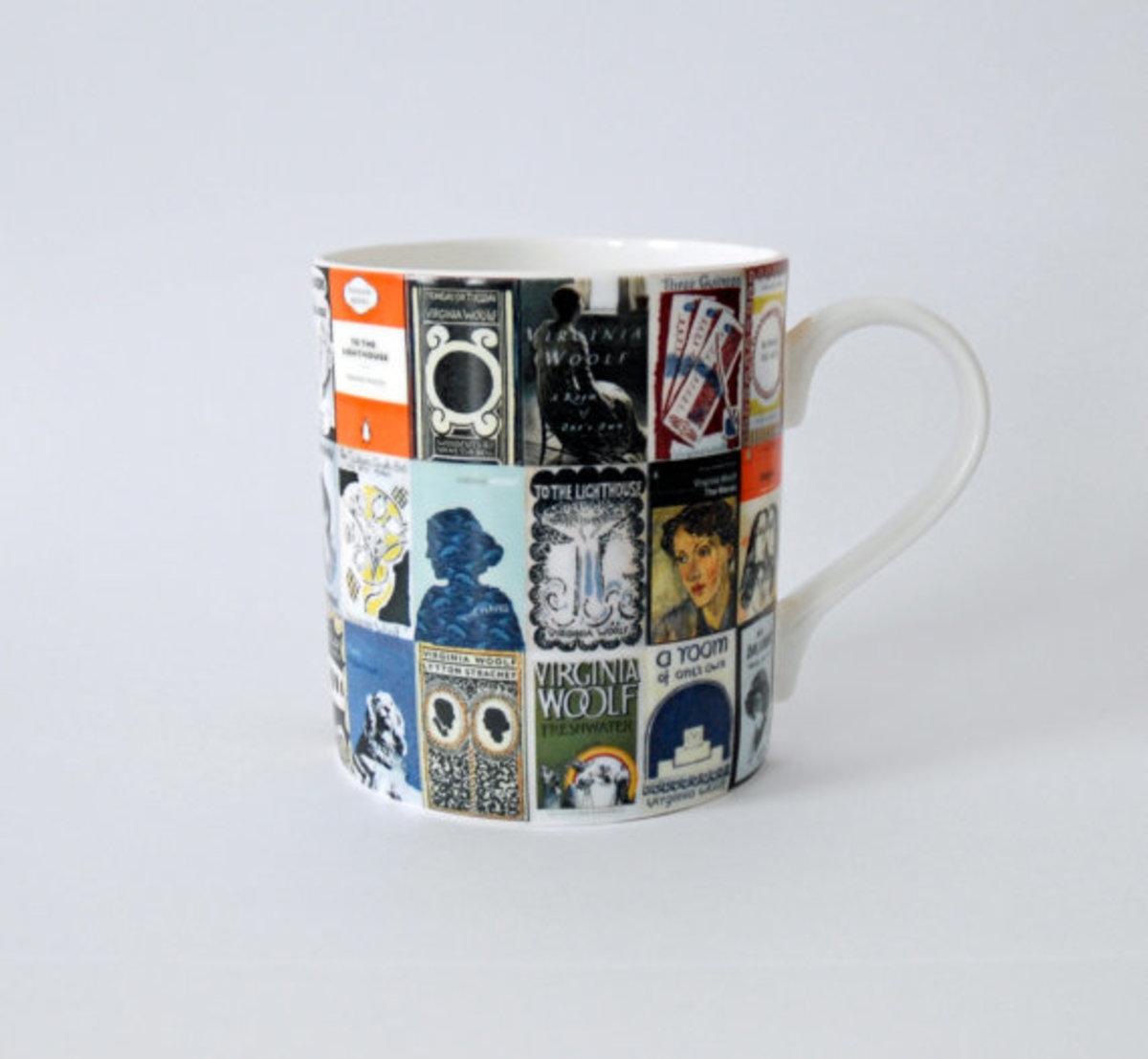 Book covers mug