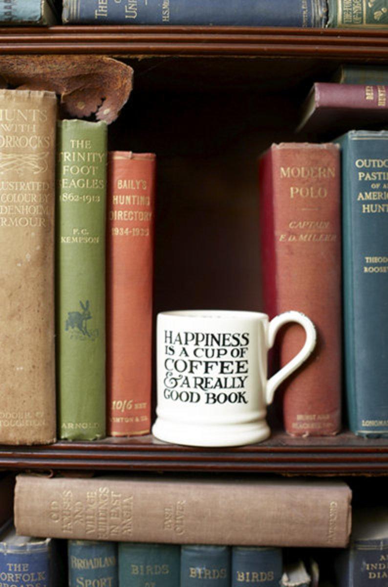 happiness quote mug