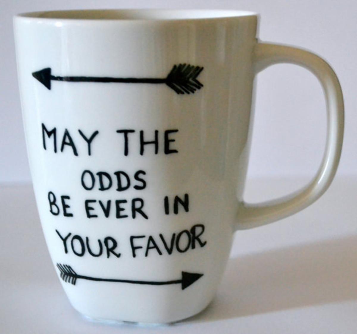 The Hunger Games mug