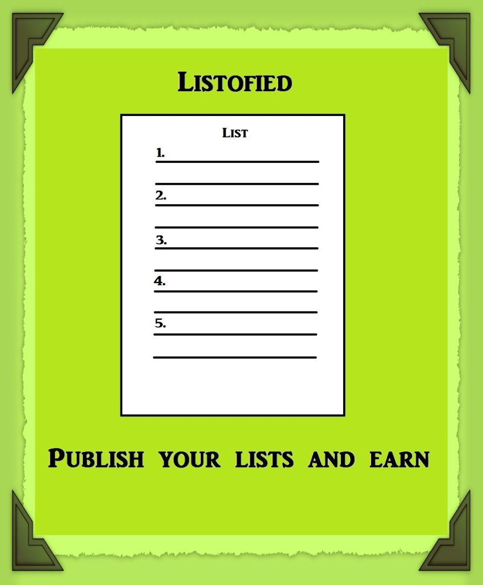 Create Your Favorite Lists on Listofied and Earn Passive Income Online