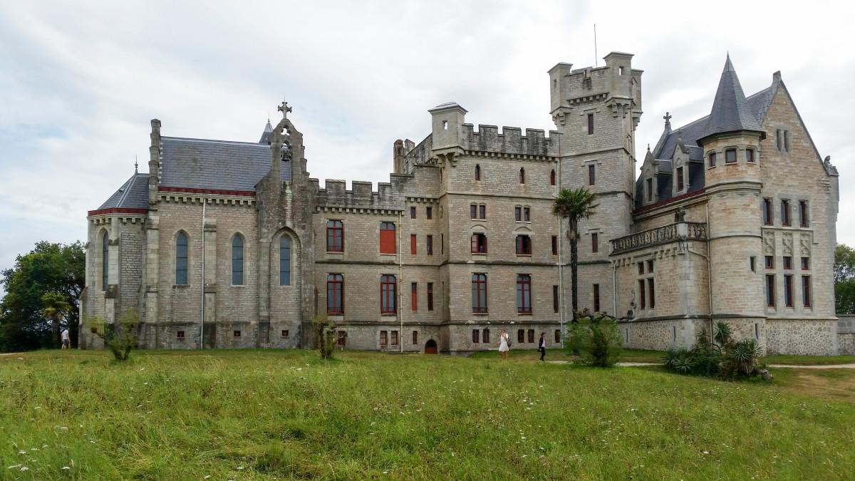Abbadia Castle in Hendaye, France