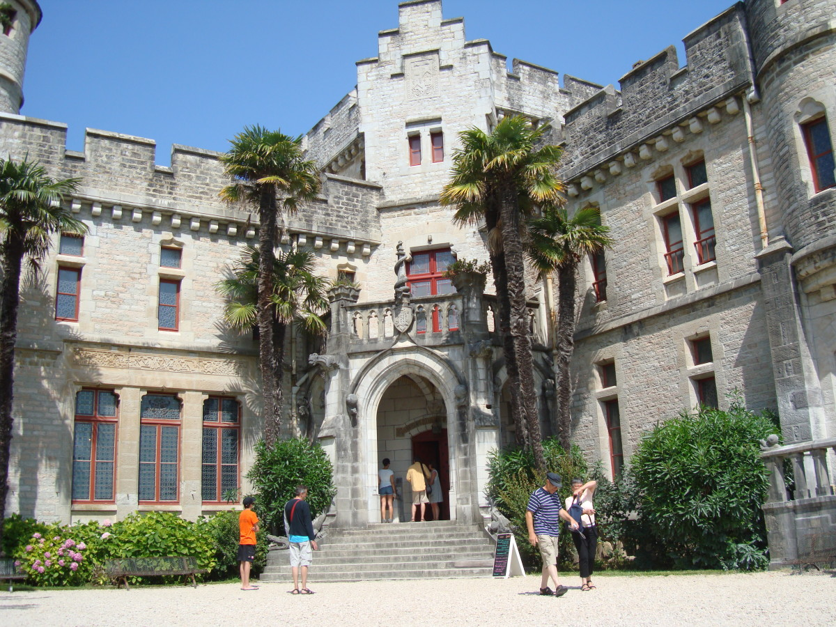 French Gothic Revival Architecture The Observatory Castle Of Abbadia