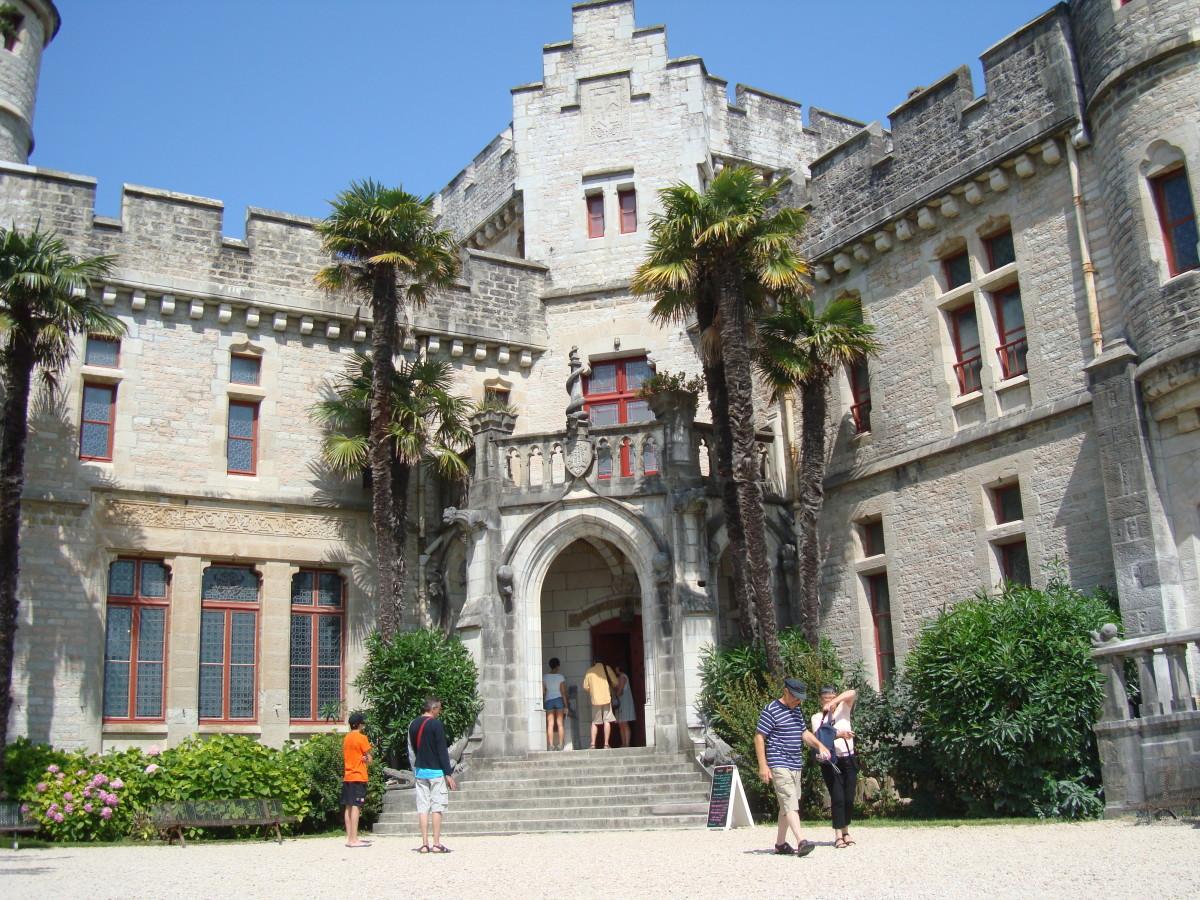 Abbadia's Castle main Entrance