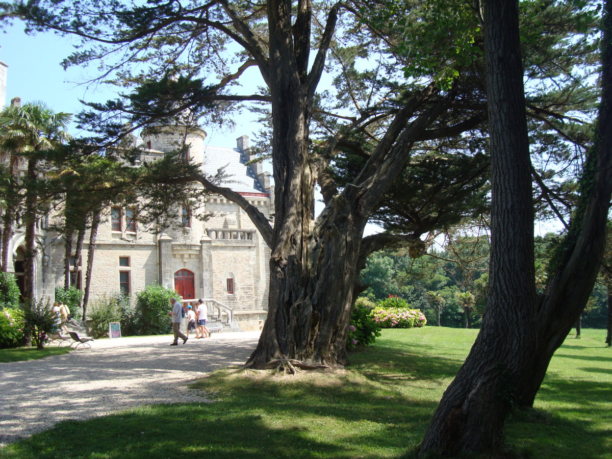 Chateau d'Abbadia, French Basque Country