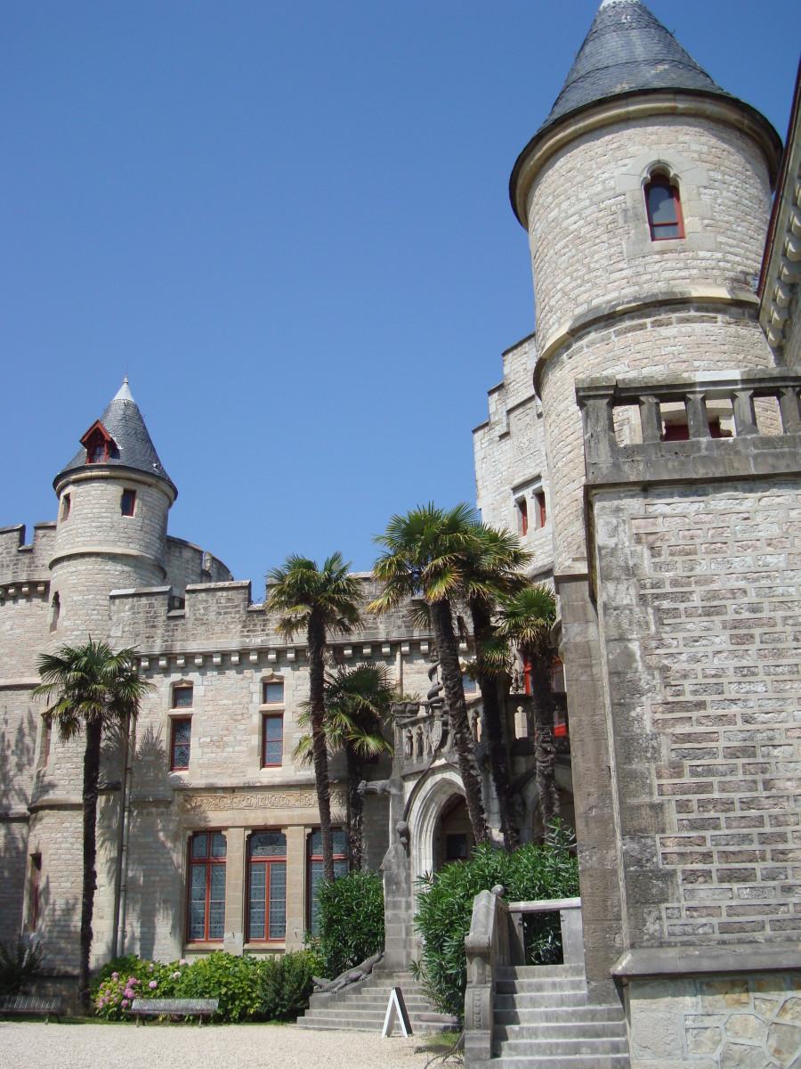 Chateau d'Abbadia, Hendaye, France