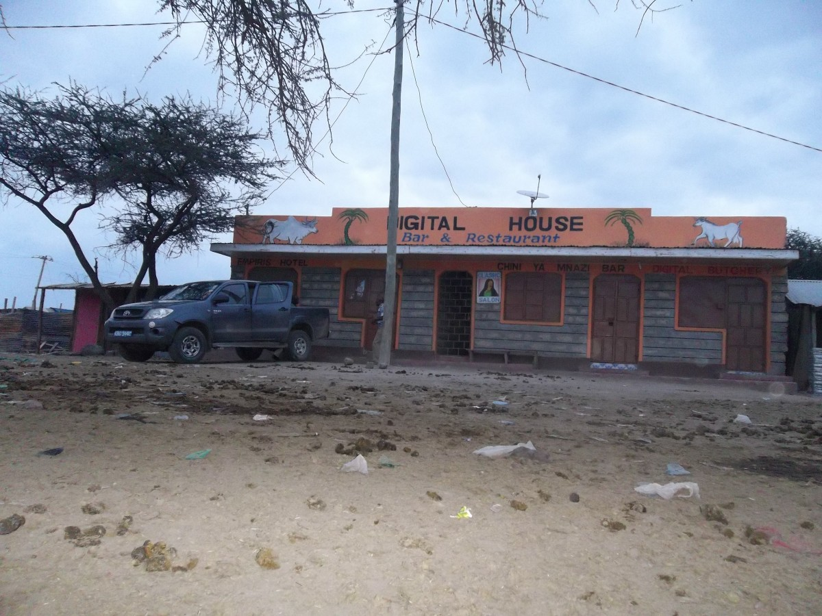 The only guest house in Ole Tepesi - Ksh. 500 a night without meals.