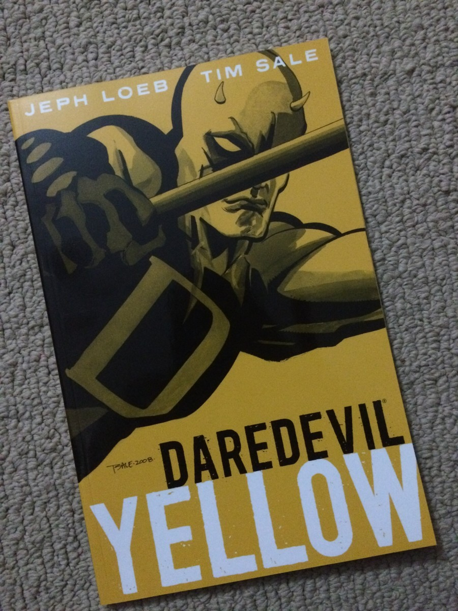 My own copy of this great book from Jeph Loeb and Tim Sale.