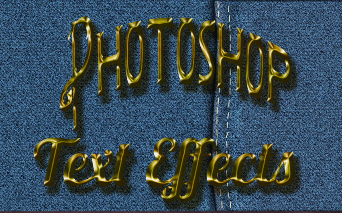 Create a Denim Jean Texture in Photoshop