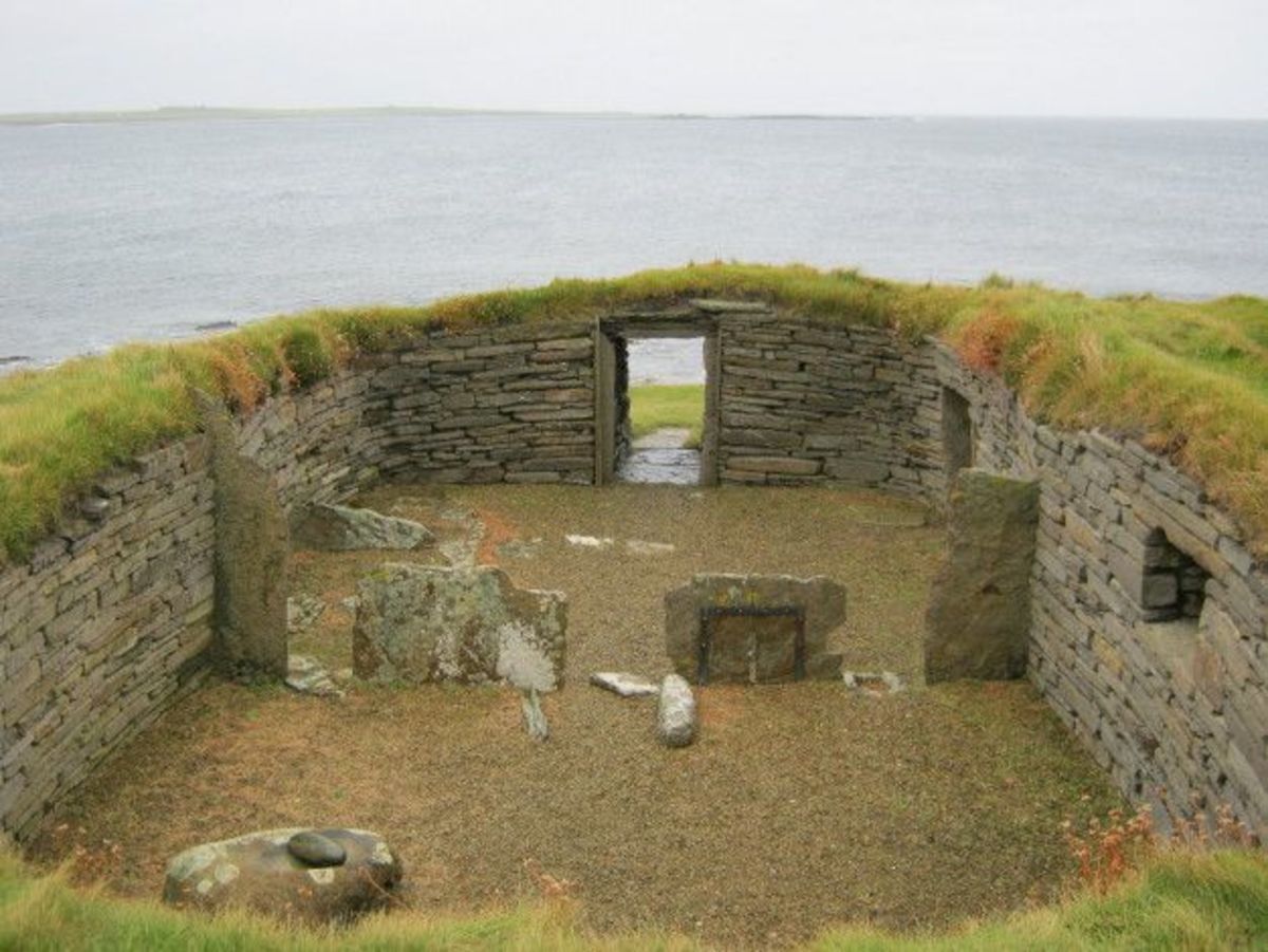 Neolithic Farmstead- 3500 BC to 3100 BC- Orkney Island