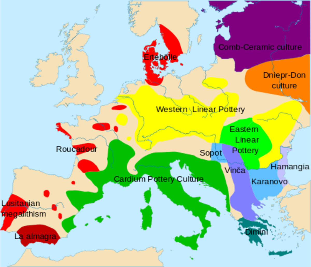 Neolithic Pottery Map