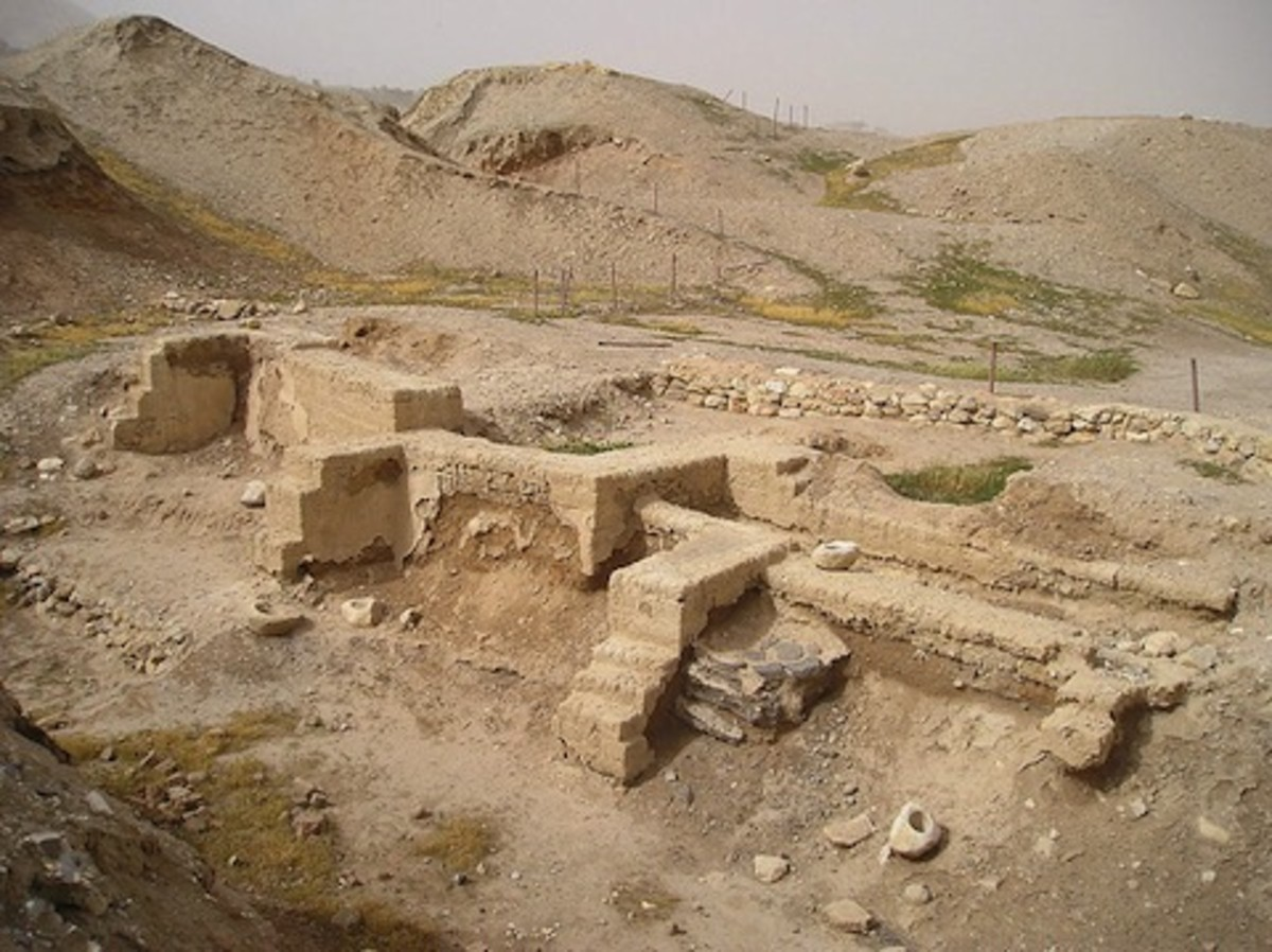 The ancient city of Jericho