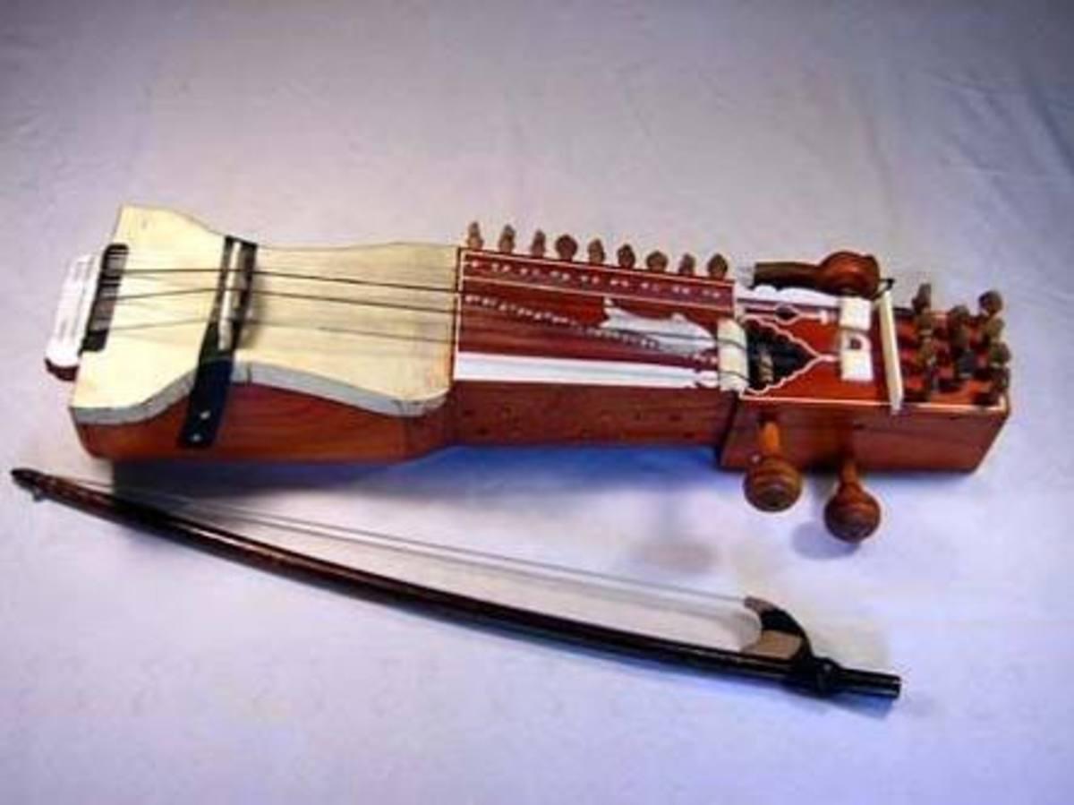 Sarangi -The Indian musical instrument