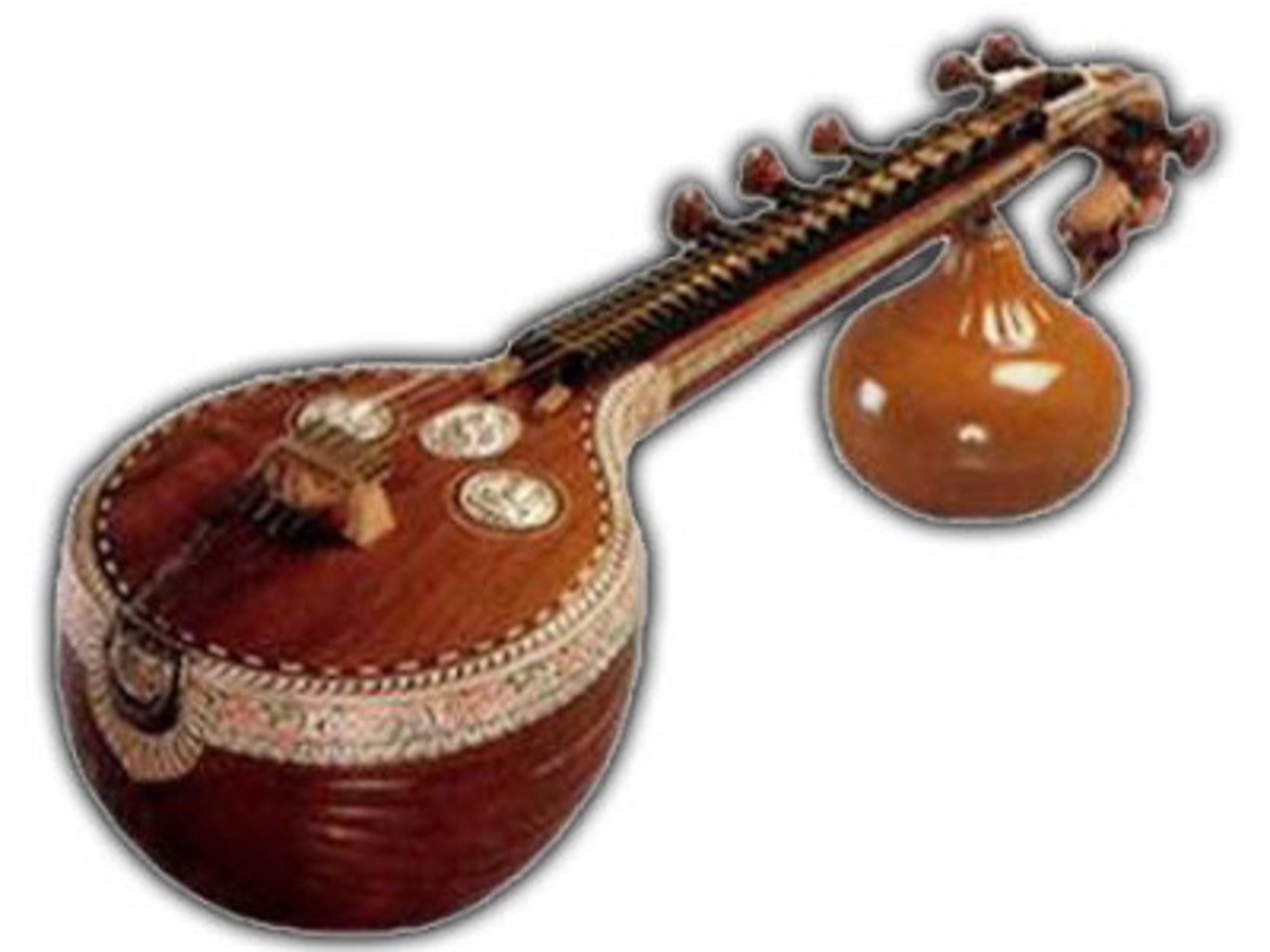 Indian musical instrument, Veena