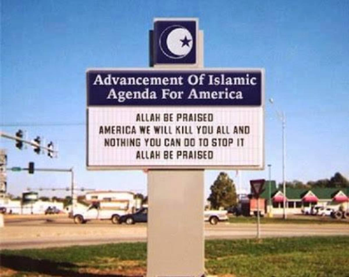 Islamist Dearborn sign in Michigan is completely fake
