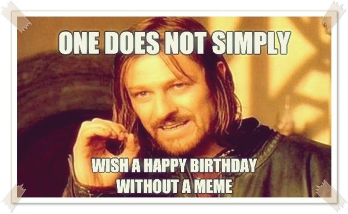 Happy Birthday Meme For Friends With Funny Poems