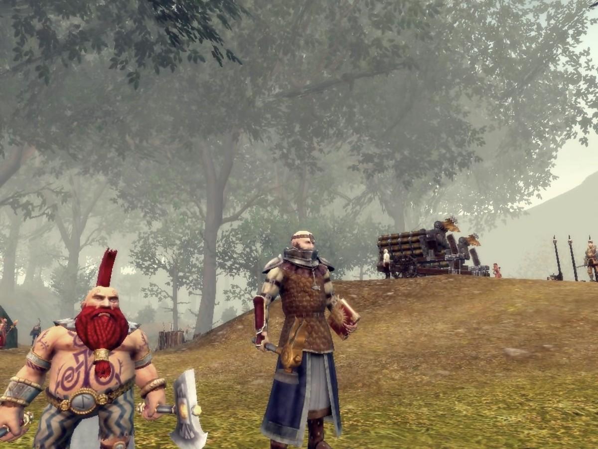 Return of Reckoning Server; Slayer and Warrior Priest