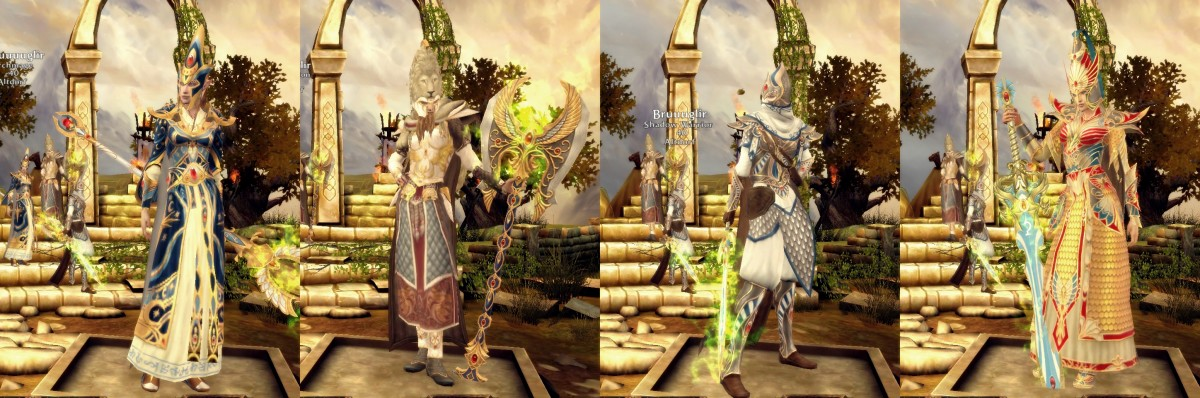 Return Of Reckoning; High Elf Classes