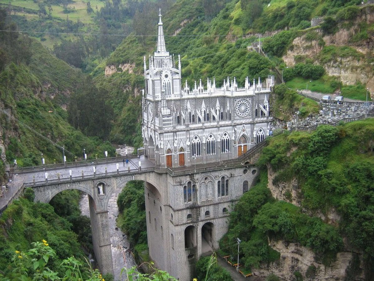 Las Lajas Catedral
