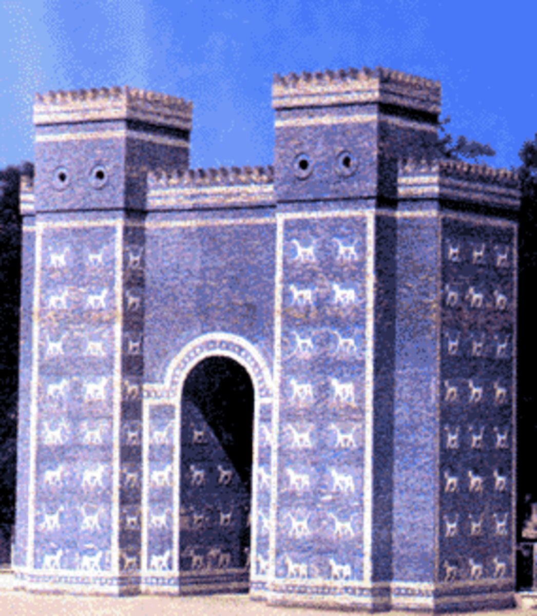 Entrance to the Great City of Babylon