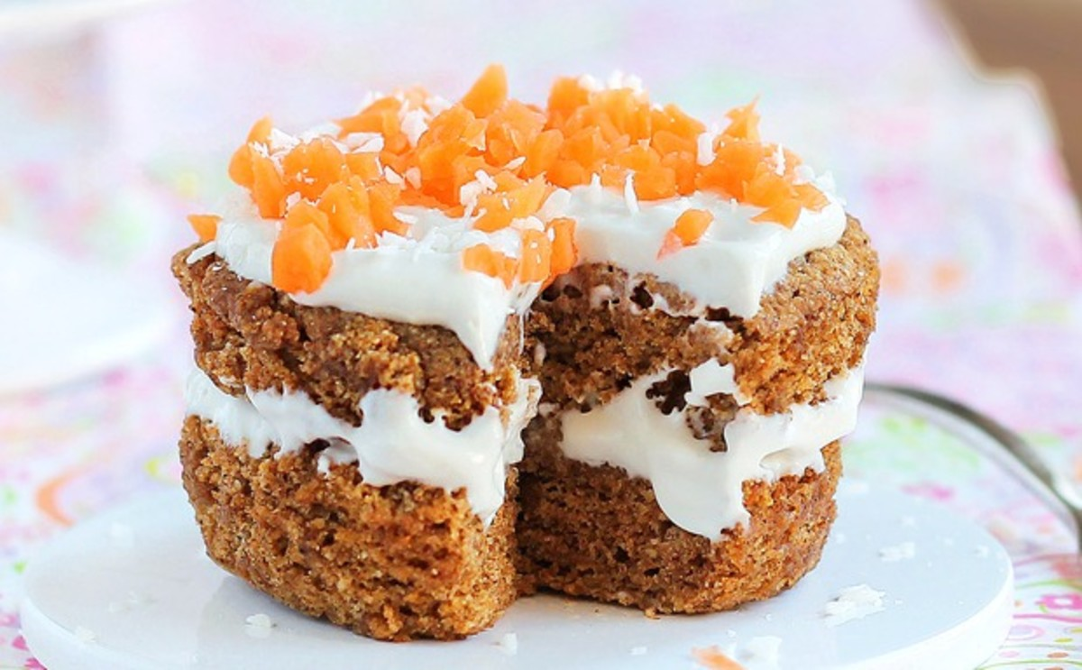 Mini-carrot Cake-Try it!