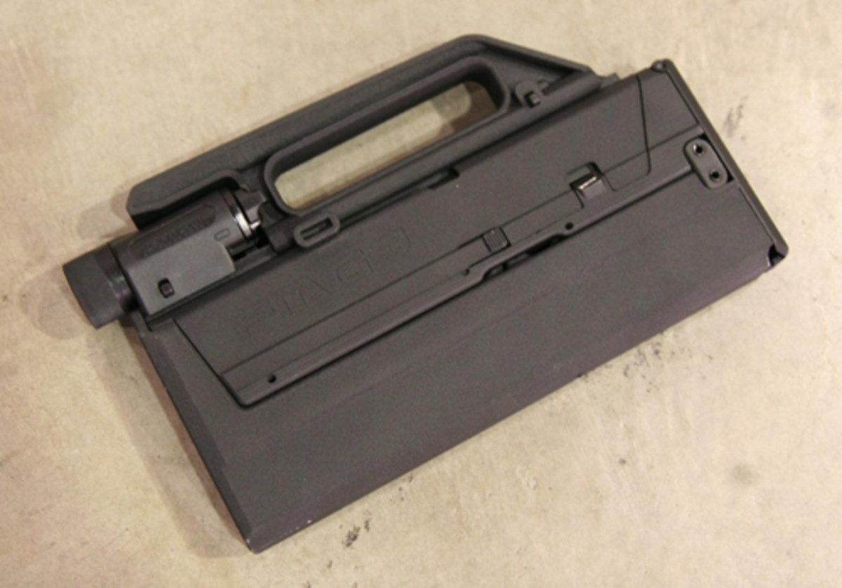 Is it a laptop battery? A radio? Or is it a concealed gun?