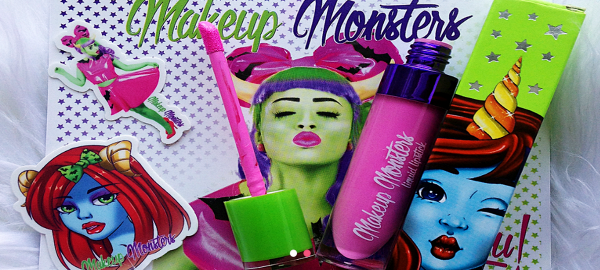Makeup Monsters packaging