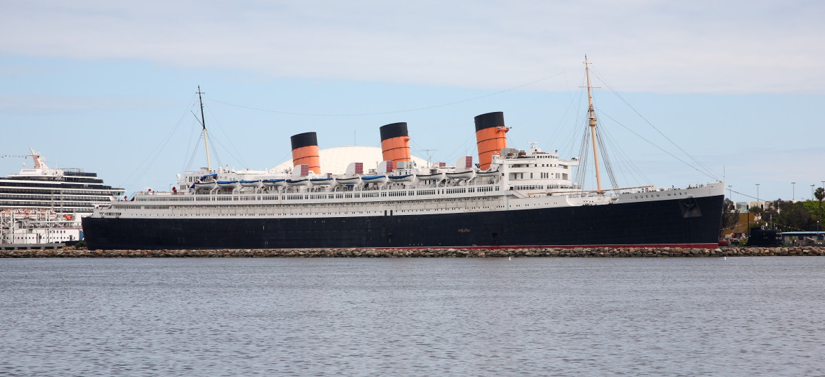 Now this great ship is a museum ship at Los Angeles