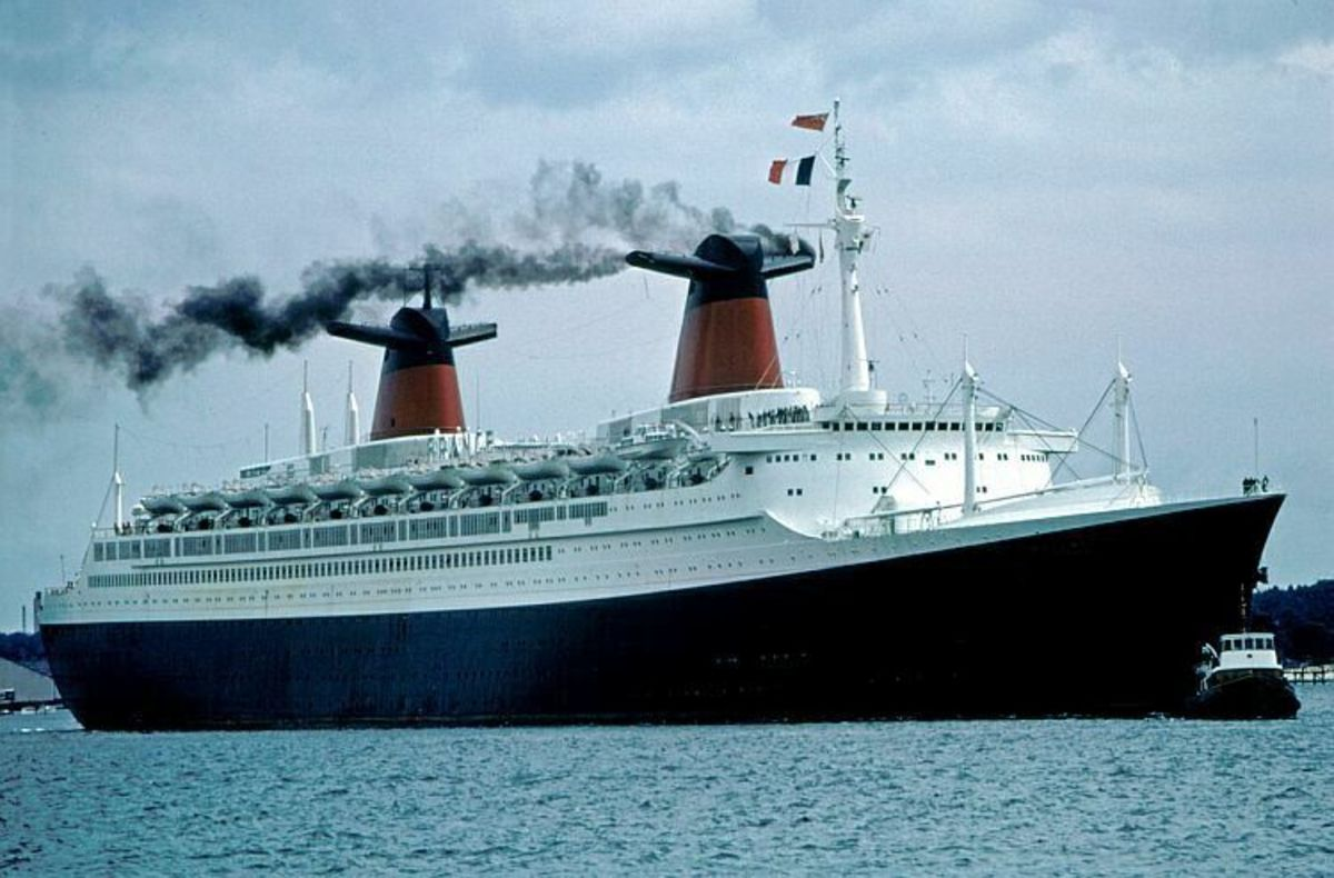 One of the finest of the great Liners the SS France was the ex SS Norway