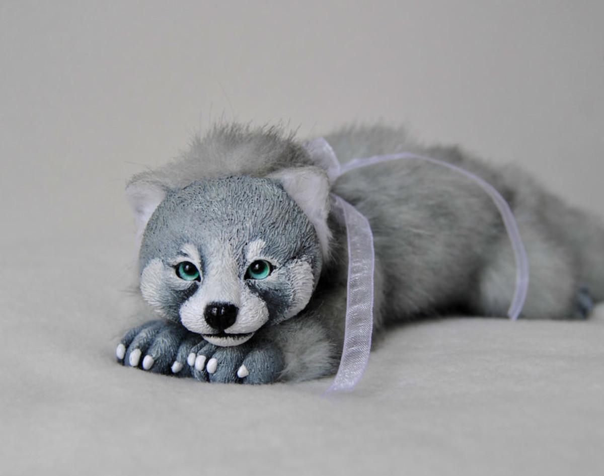 Grey 'Red Panda'