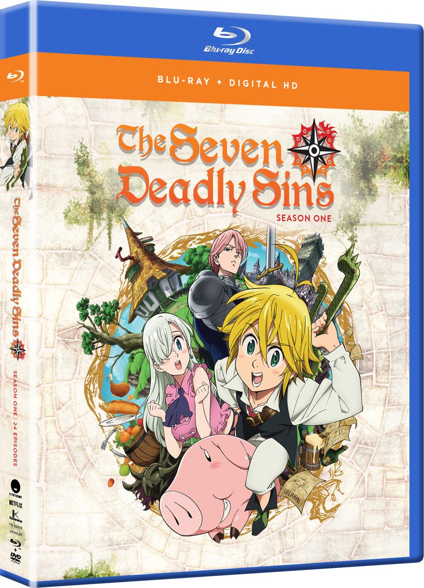 Anime Review: The Seven Deadly Sins (Nanatsu no Taizai) (2015)
