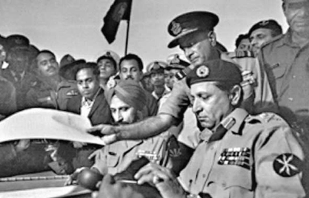Signing the surrender