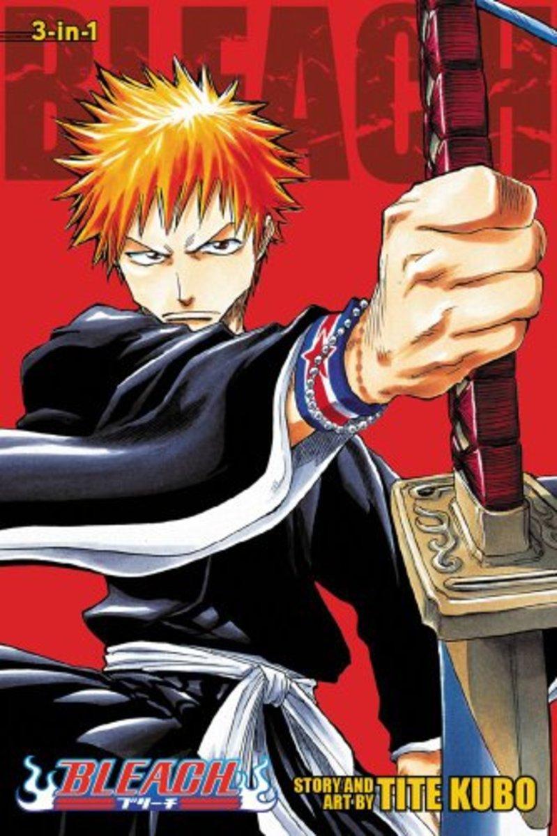 Manga Review: Bleach Volume 1 By Tite Kubo