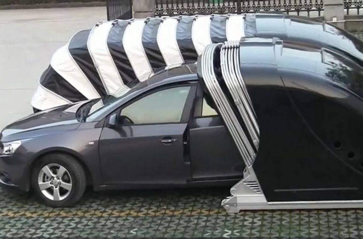 Portable Pop Up Garage : Portable pop up garage