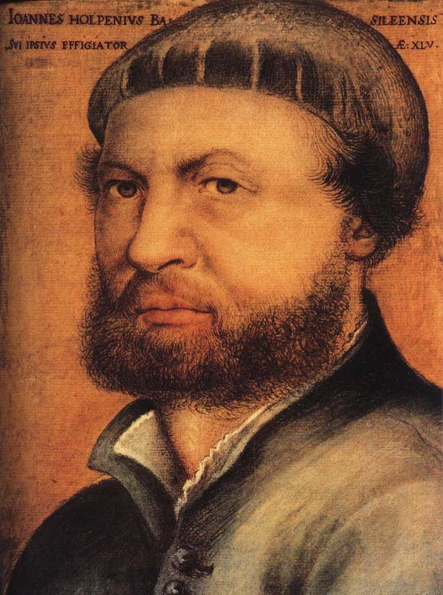 Self Portrait, 1542.