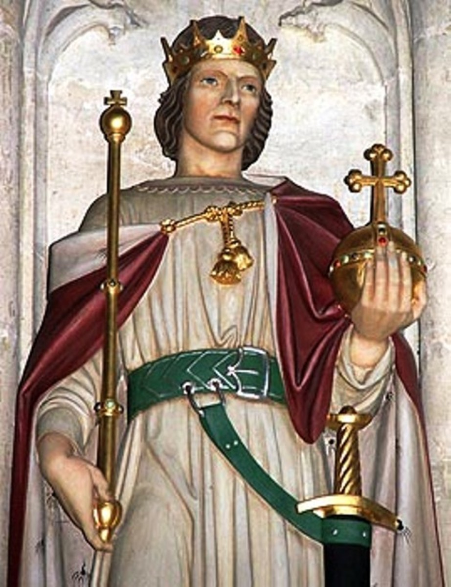 Eadwin, King of Northumbria - even as he stepped up to be crowned dissent was afoot