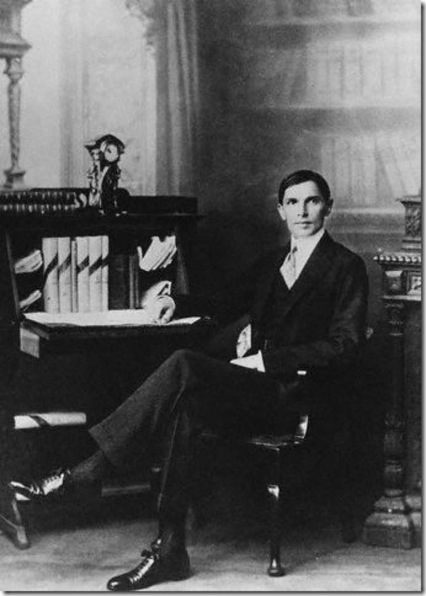 Young Muhammad Ali Jinnah
